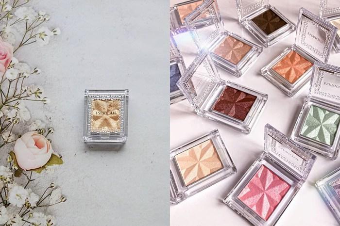 用這款日本女生默默收藏的寶石單色眼影,打造透明感的光澤眼妝!