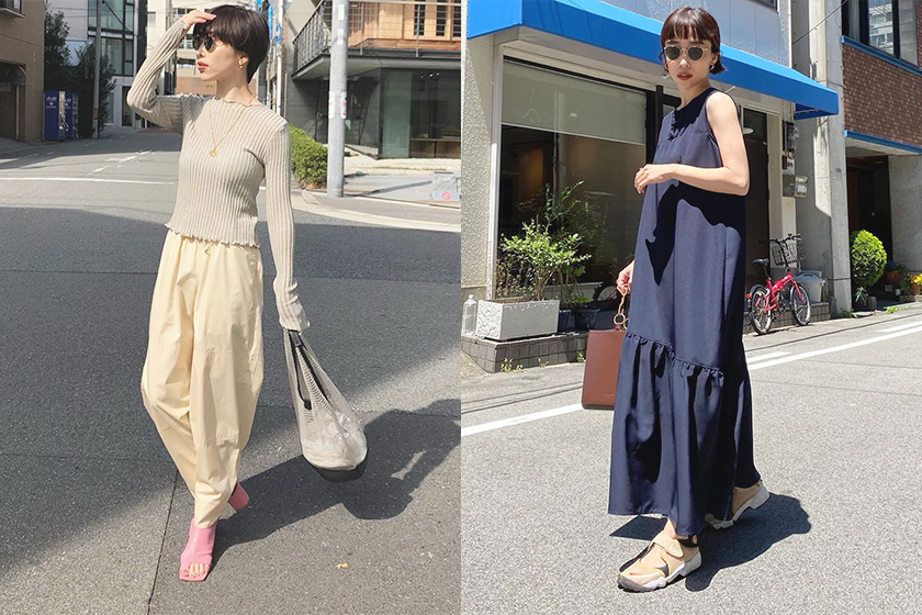 Japanese Girl zu meer Spring Summer Outfit Inspiration