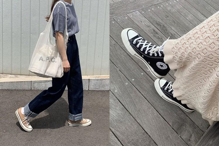 一雙你我鞋櫃裡都有的 Converse,穿出日本女生的率性風格!