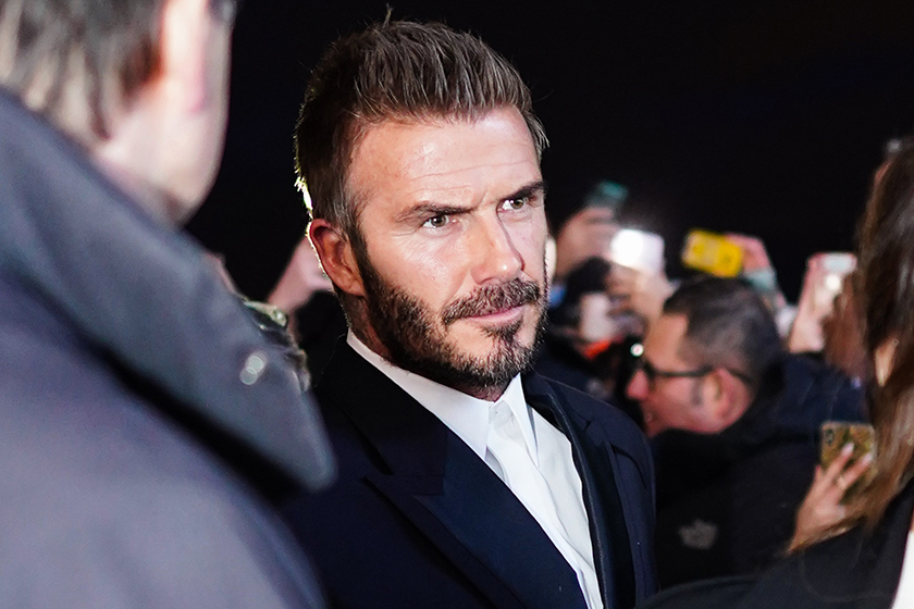 David Beckham Cooking reality show Netflix BBC