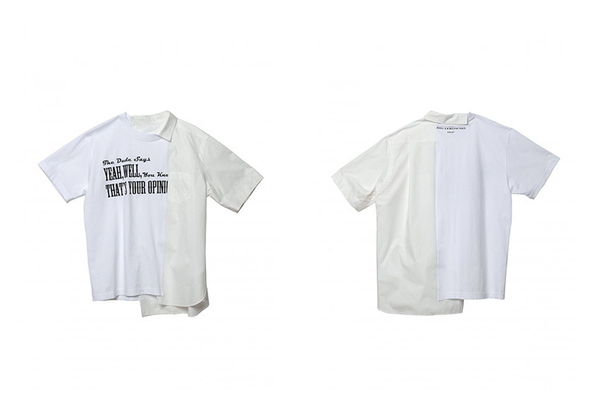 sacai The Big Lebowski Collaboration T-shirt