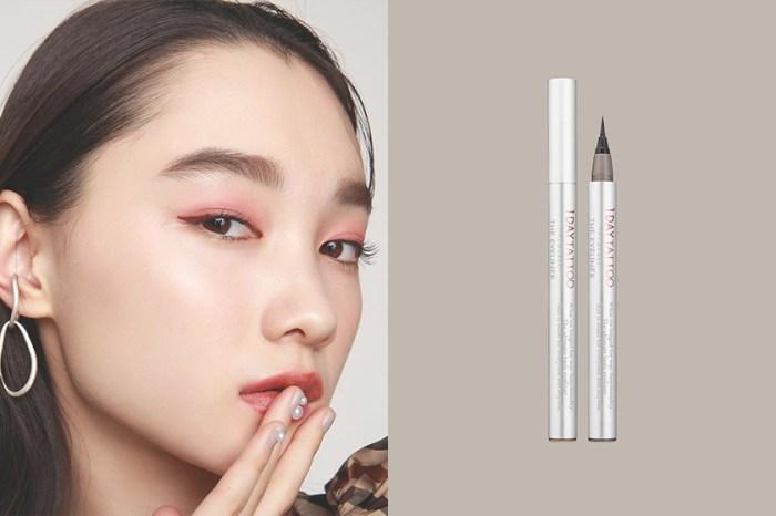 夏天也不怕暈妝:日本這款「1 Day Tattoo」眼線液筆剛剛開售就引來熱議!