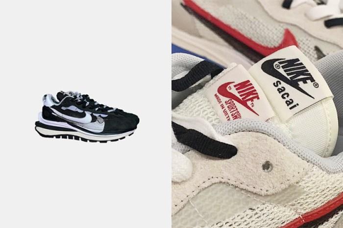 聯名話題:鞋迷們熱議的 sacai x Nike Vaporwaffle 再度有新配色曝光!