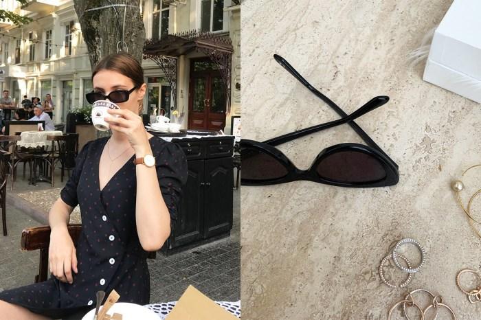 POPBEE 編輯部推介:在陽光燦爛的日子,我們需要這樣的一幅太陽眼鏡!