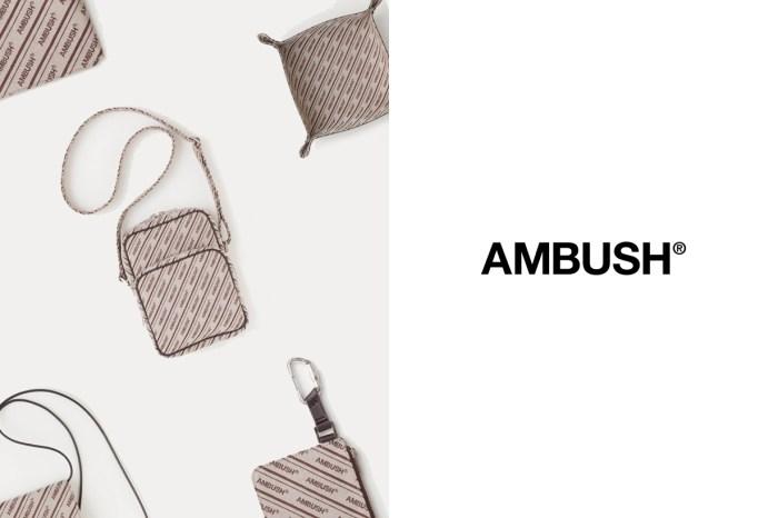 Ambush 推出 Logo Canvas 系列配件,即將成為洗版社群的圖騰設計?