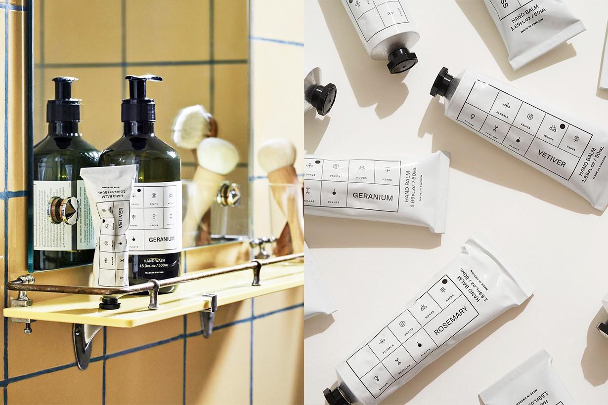 Arket Hand Balm Rosemary Junlper Vetiver Oakmoss Geranlum Neroll Sweden Skincare