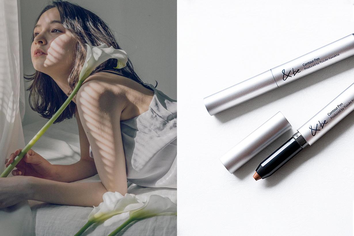 &be and be kawakita yusuke contour pen new makeup japan