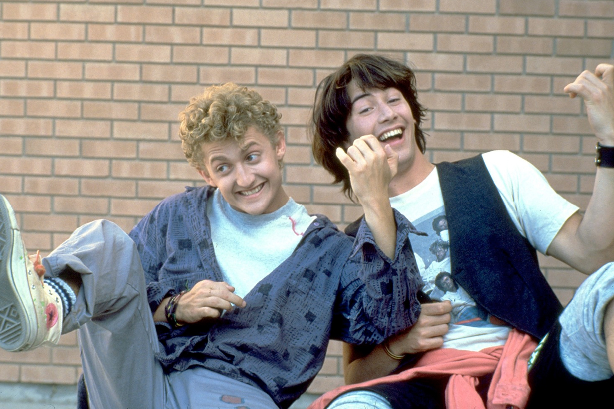kaenu reeves bill&ted back 2020 alex winter