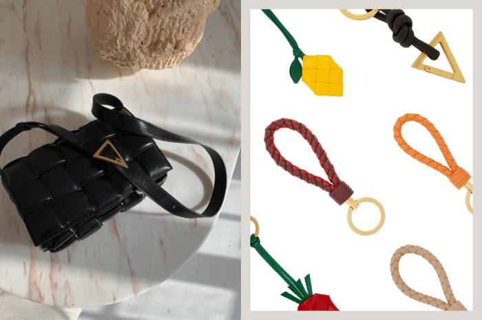 草莓款式也太可愛!Bottega Veneta 除了手袋之外,鎖匙扣也很值得買!