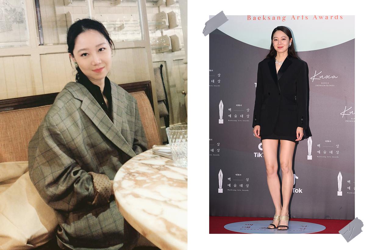 Kong Hyo-Jin burberry Baeksang Arts Awards red carpet 2020