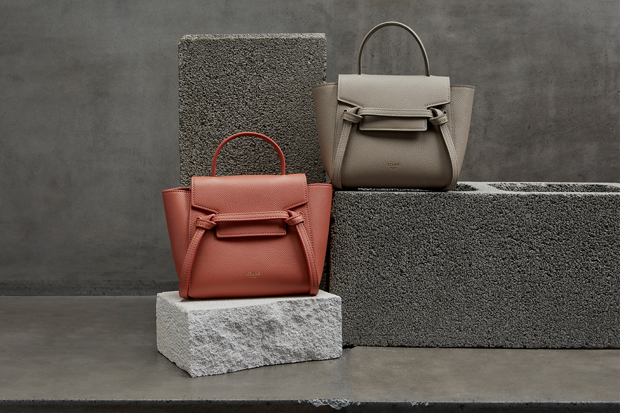 celine pico belt bag handbags mini bags Hedi Slimane