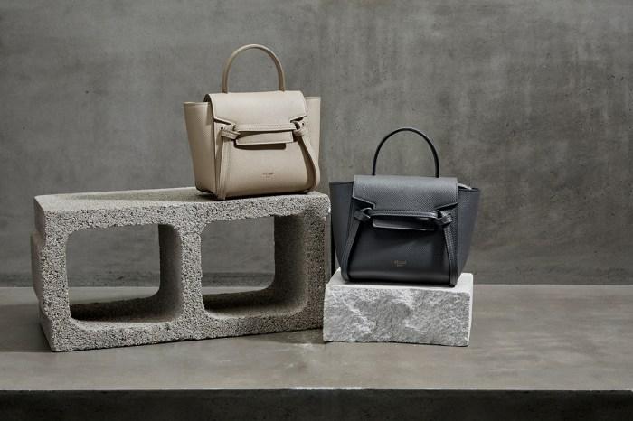 下一款時尚新寵兒:Celine 經典手袋 Belt Bag 再推出超迷你尺寸!