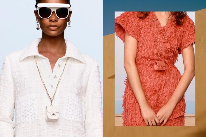Chanel 2021 Resort 的迷你焦點,經典的 Flap 菱格紋手袋變成 AirPods Case 了!