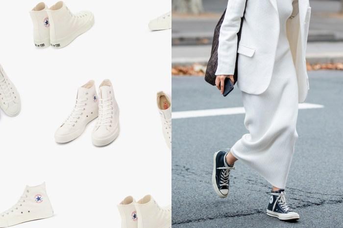 Converse Japan 推出一雙全白帆布鞋,為什麼能比基本款貴上一倍的價錢?