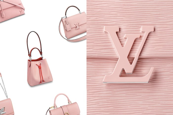 甜而不膩的淡雅:Louis Vuitton 推出芭蕾粉手袋,其中這款最受到歡迎!
