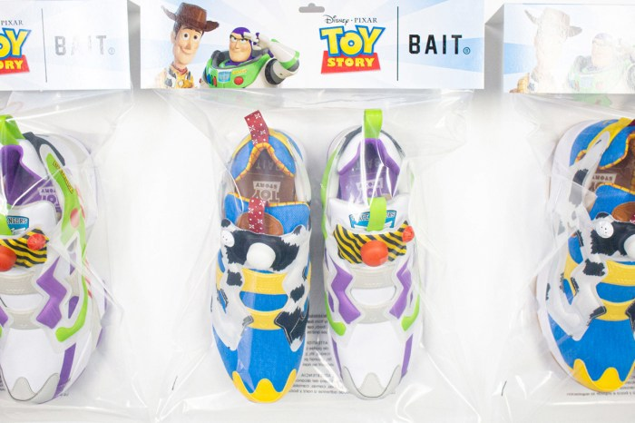 終於等到開賣,BAIT x Reebok x《Toy Story》波鞋連包裝都別出心裁!