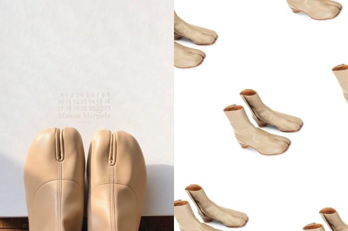 質感又型格:Maison Margiela 經典分趾靴,米白色系誰能抗拒?