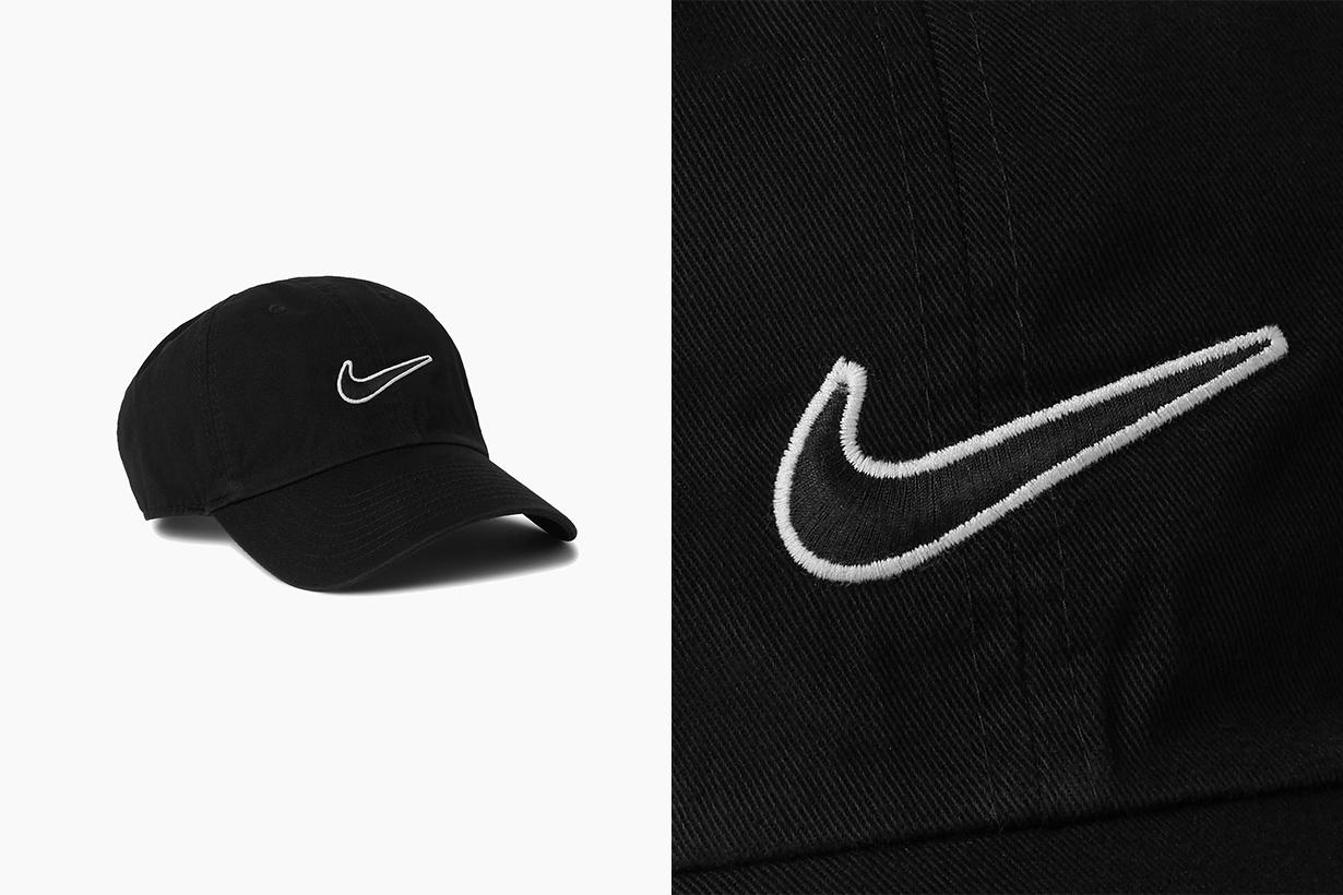 nike brings back classic 86 logo embroidered baseball cap