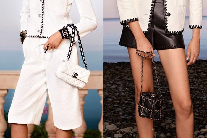 近賞 Chanel 早春系列手袋,其中迷你腰包、鏈帶水桶包已被鎖定入手!