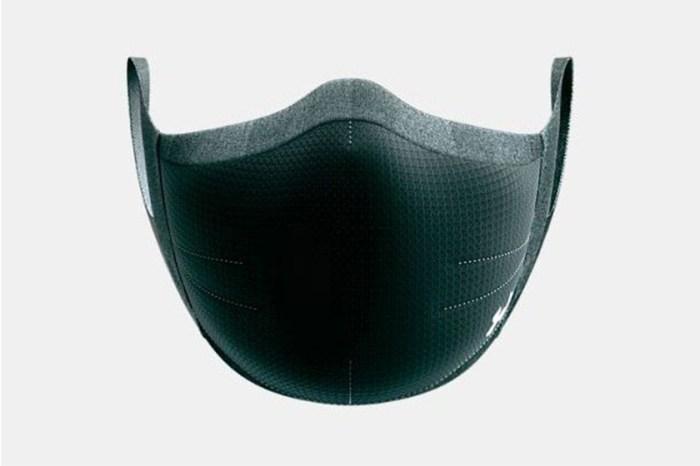 Under Armour 推出運動專用口罩,以後做運動也不怕焗壞!