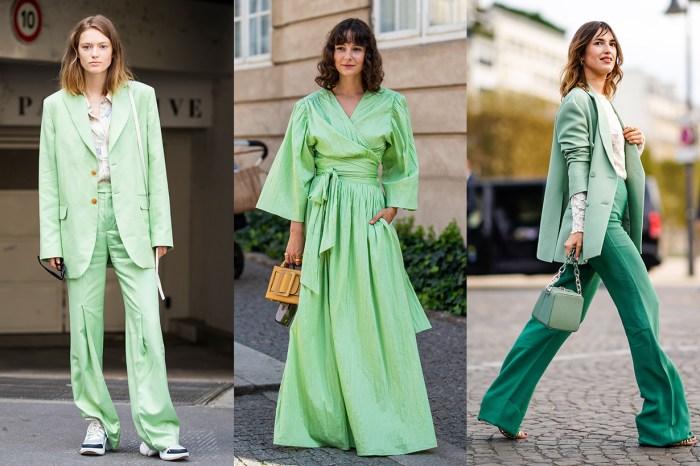日本 WEAR 報告:綠色穿著率大增 206%!哪兩種綠今年最流行?