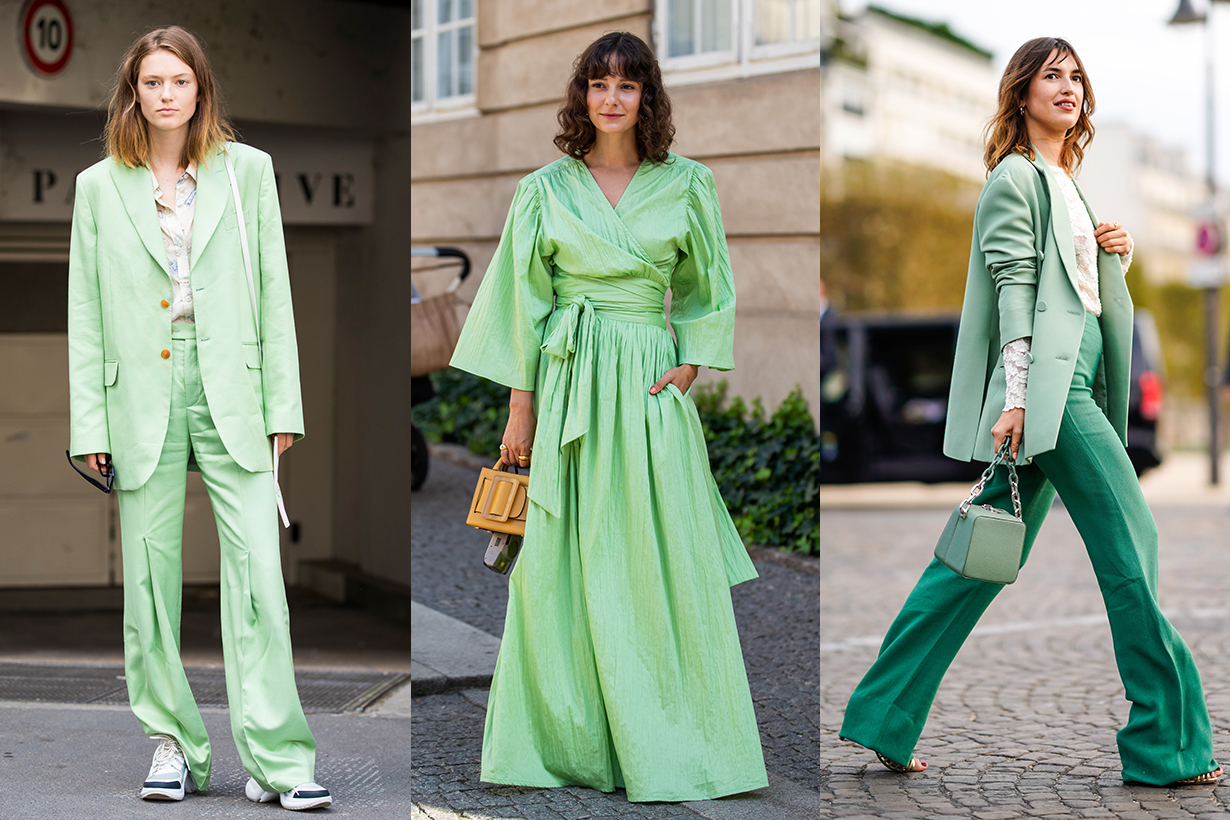 Green Color Trend 2020 Summer