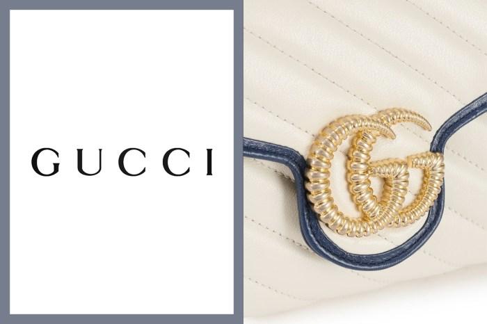 誰說金色 Logo 會俗氣?這款 GG Marmont 手袋,優雅氣質系女生必收下!