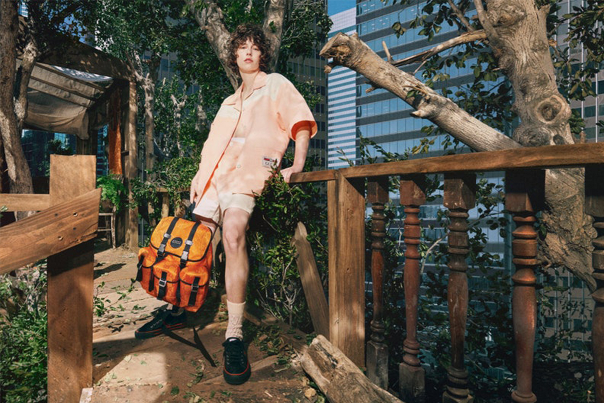 Gucci debuted Off the Grid, the first collection from Gucci Circular Lines