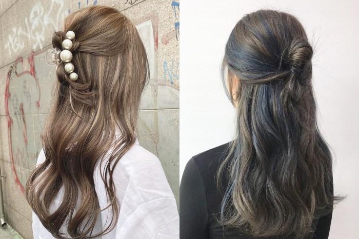 想不到該染什麼新髮色?不如跟韓國女生來試試挑染吧!