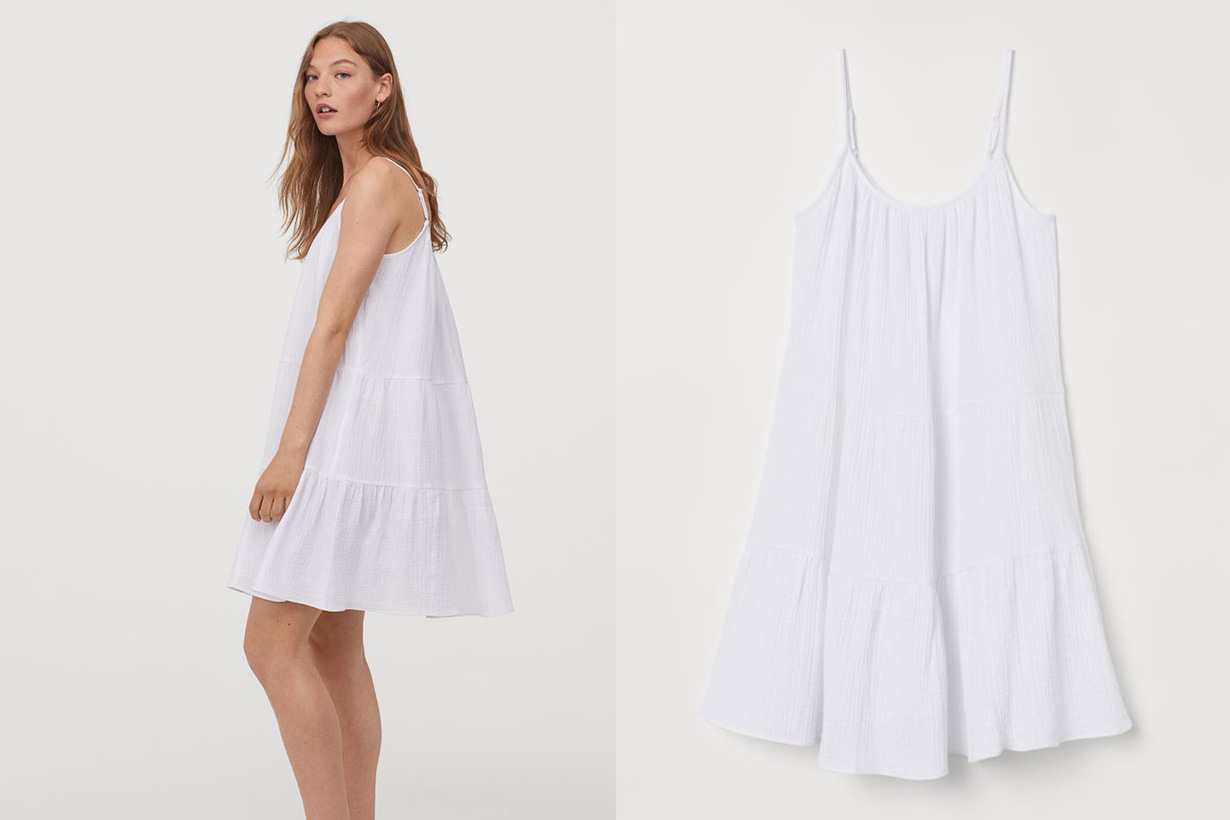 H&M short dress 2020ss