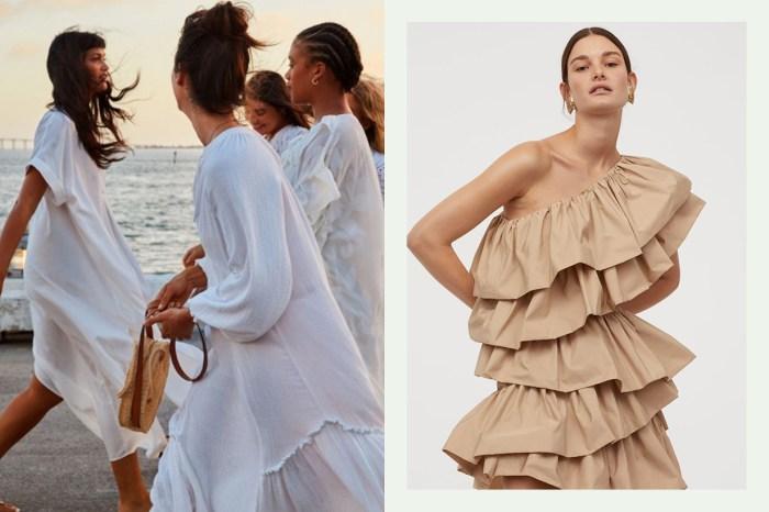 H&M 的永續系列大受好評,還藏著這 16 條 CP 值超高的連身裙!