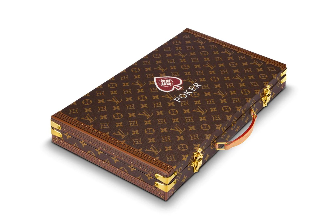 Louis vuitton monogram poker case release info