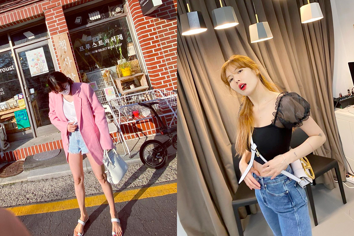 hyuna chanel maison margiela valentino handbags favorites