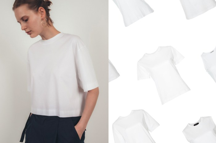 已經多款售罄:這家白色 T-Shirt 被日本女生默默加入購物車!