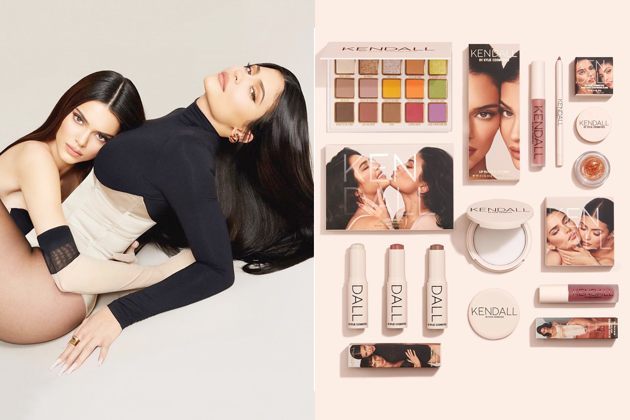 kylie cosmetics kendall jenner collabration sister lip kit palette