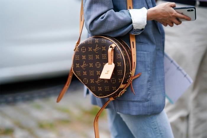 換上柔軟皮革後,Louis Vuitton 的經典帽盒手袋更顯低調迷人!