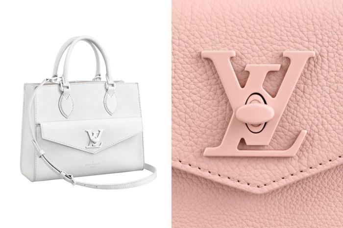 Louis Vuitton 手袋新目標:同色系的鎖扣細節,呈現完美極簡質感!