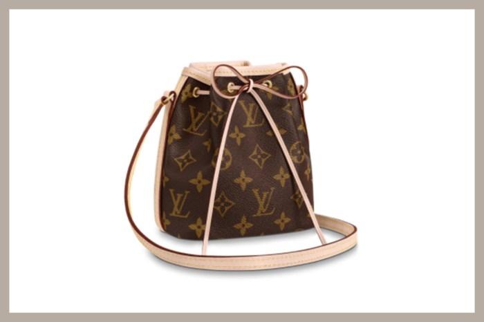 買袋預算在萬元以下?Louis Vuitton 的印花水桶包,必放入願望清單!
