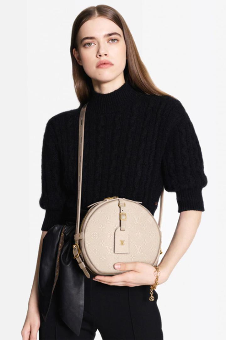 Louis Vuitton's Boîte Chapeau Souple Now Comes in Empreinte Leather