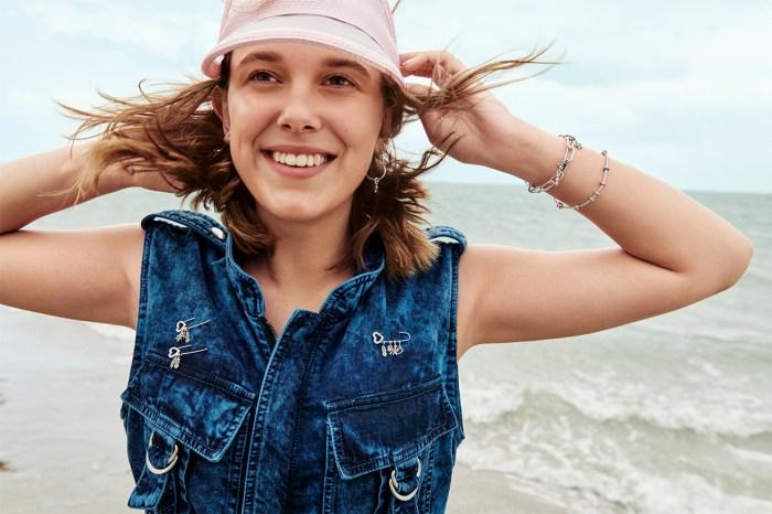 設計珠寶也難不倒 Millie Bobby Brown!與 Pandora 合作,帶來充滿夏日風情的飾品