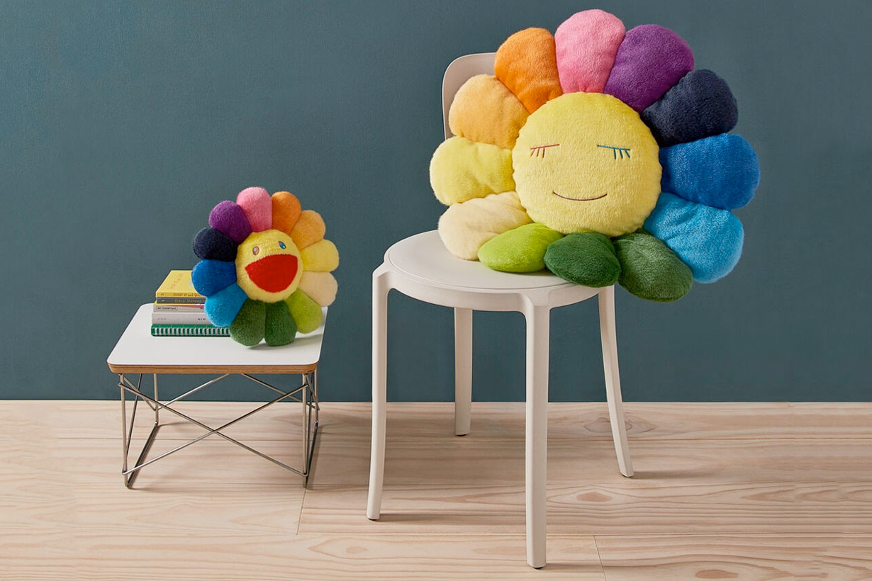 moma design takashi murakami flower plush restock where buy