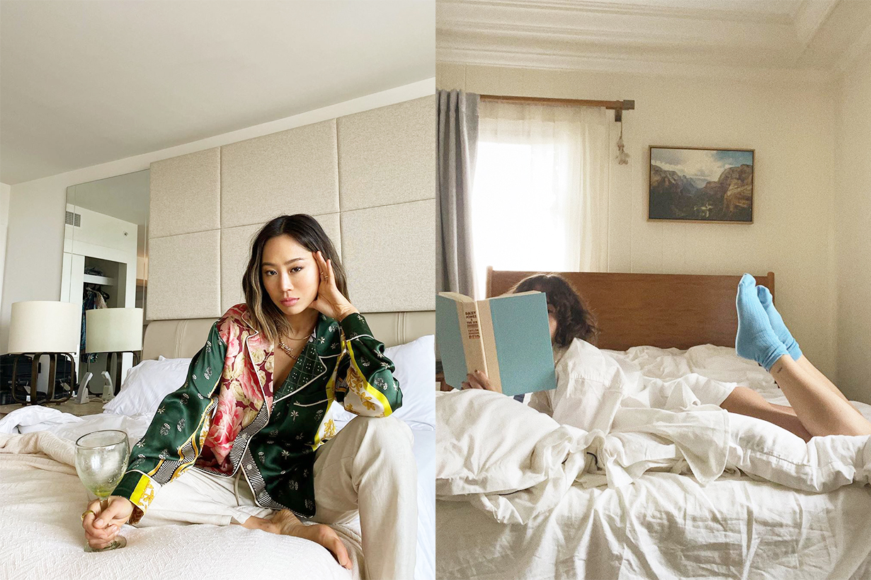 POPBEE Editors Pick Bedroom decoration stylish home bedroom Gucci Cat porcelain incense holder  VIEW FULLSCREEN FRETTE Chains jacquard wool throw blanket  VIEW FULLSCREEN SAVED NY X Fee Greening Pearl cashmere cushion