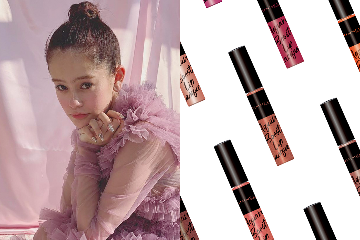 rimmel liquid lipstick aquary Lacquer japanese girl