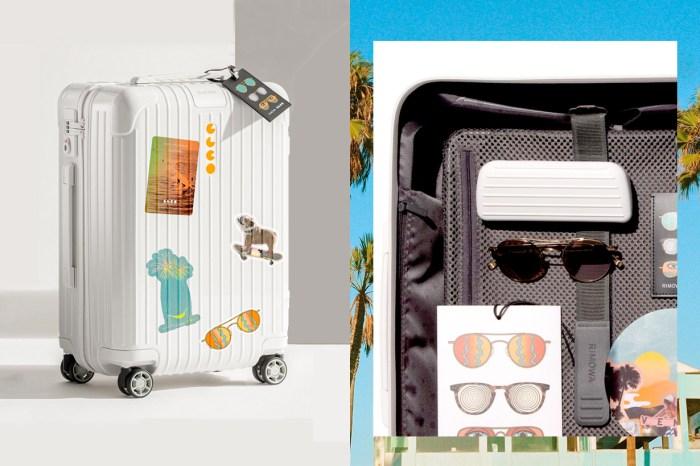 最堅固的墨鏡盒?Rimowa 與獨立品牌聯乘,宛如福袋的行李箱滿滿驚喜!