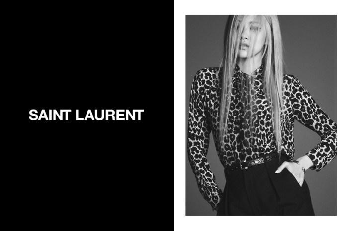 為什麼 Rosé 出鏡 Saint Laurent 會引起討論?不是每個明星都能成為 Global Face!