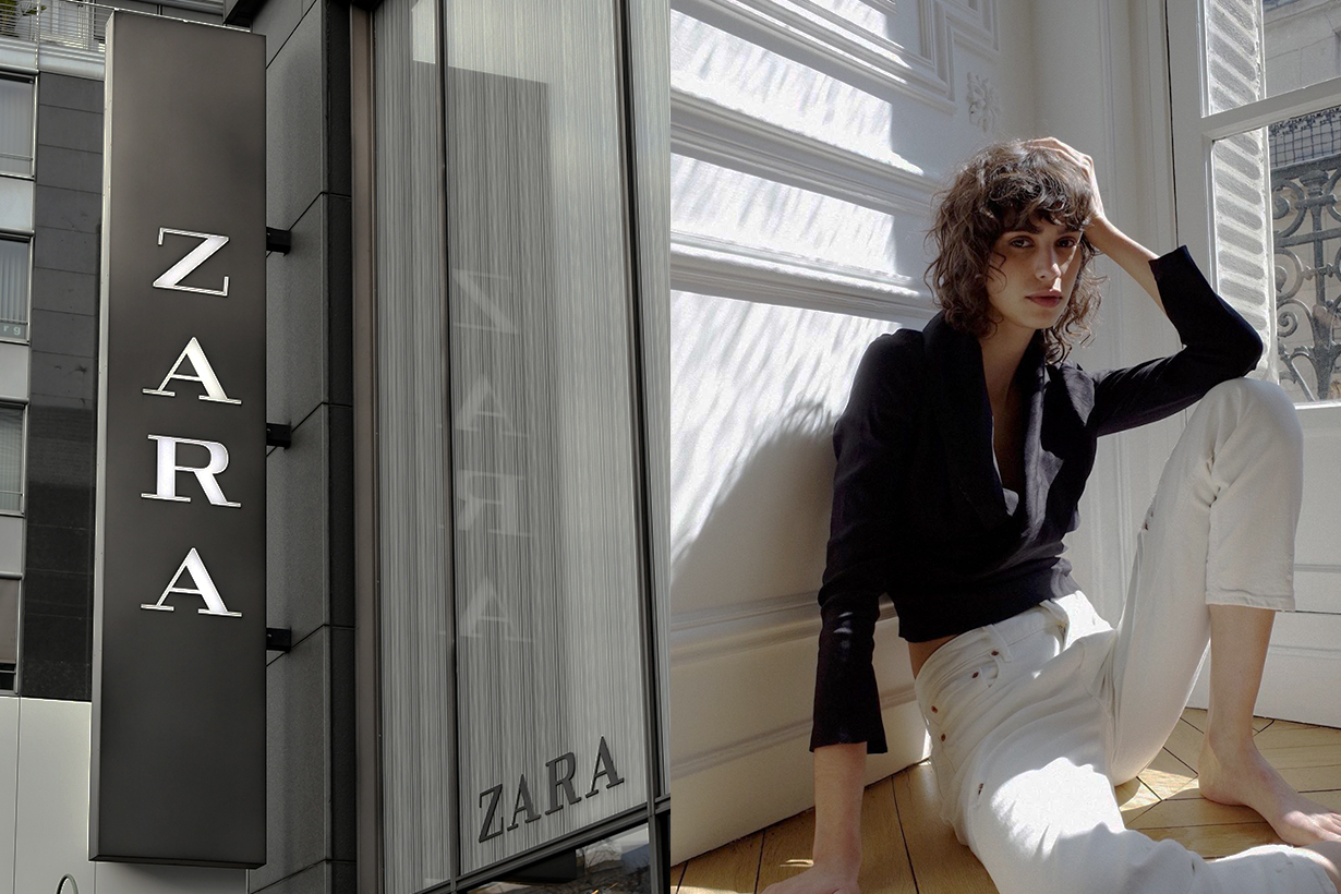 zara owner Inditex Massimo Dutti Pull&Bear close 1200 fashion stores around the world fast fashion