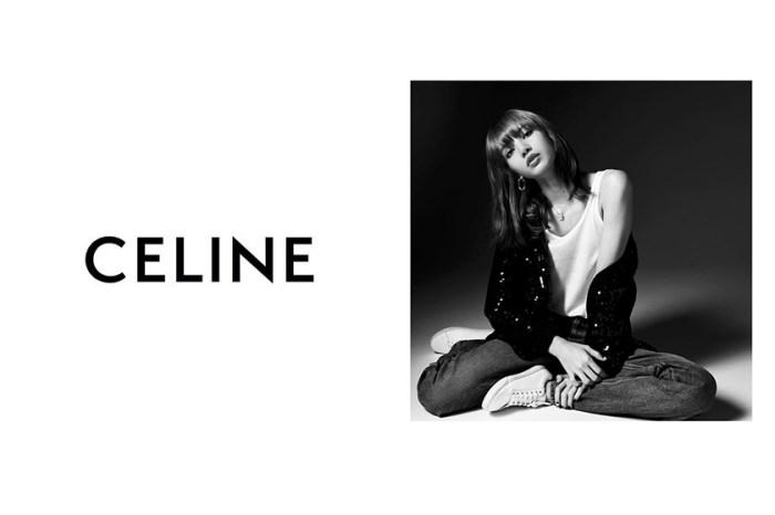 鮮少拍攝名人的 CELINE,找來 Lisa 出鏡黑白形象照引起話題!