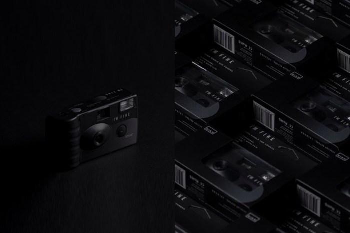 NINM Lab推出極簡黑白菲林相機,用懷舊色調讓日常更有味道!