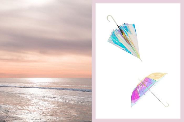 絕美防曬小物:這一把夢幻彩虹光遮陽傘,讓日本女生討論度爆燈!