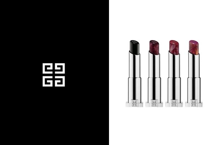 一抹寶石黑:Givenchy 全新禁忌唇膏,絕美大理石紋路怎能抗拒?